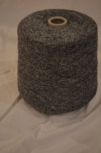 Murad black//white size 1//5  Machine Knitting Yarn