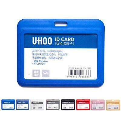 Card Cash Aluminum Alloy Holder ID Badge Case Firm Card Protector 9.8*5.8cm 1PC
