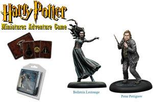 HARRY-POTTER-MINIATURES-ADVENTURE-GAME-Bellatrix-Lestrange-amp-Peter-Pettigrew