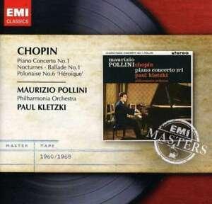 Maurizio-Pollini-PAUL-KLETZKI-Chopin-Piano-Concerto-no-1-NUEVO-CD