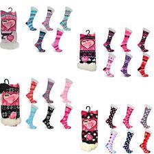 Ladies Ankle Soft-eez Bed Socks Snuggle Thermal Warm Brushed Comfortable Socks