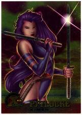 Psylocke #10 Fleer Ultra X-Men Chrome Trade Card (C291)