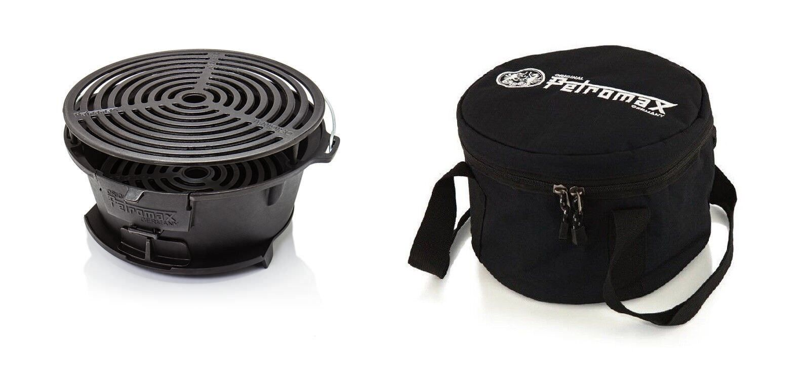 Petromax Feuergrill tg3 Grill Holzkohlegrill Gusseisen Feuerschale Feuerstelle Feuerstelle Feuerschale 15760a
