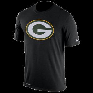 Green-Bay-Packers-Mens-Nike-Logo-Essential-DRI-FIT-T-Shirt-XXL-amp-XL-NWT