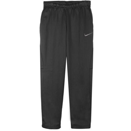 Nike Therma Pants Mens 800191-010 Black Dri-Fit Polyester Training Pants Size L