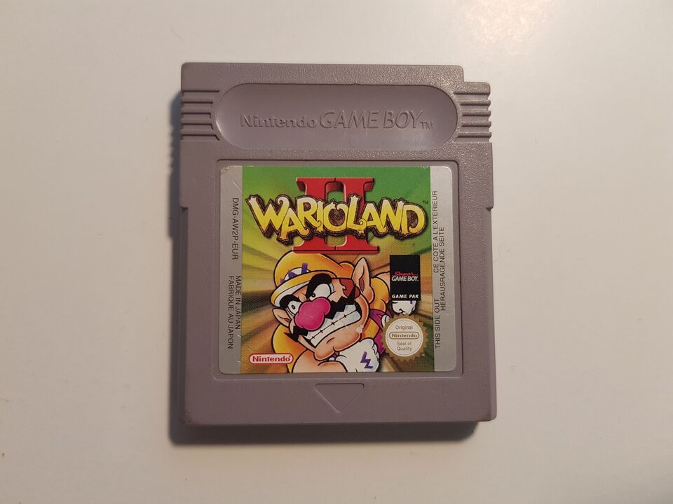 Wario Land II, Gameboy