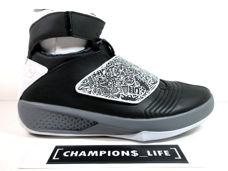 NIKE - AIR JORDAN XX(20) - PLAYOFF 10.5 COOL GREY - SZ 10.5 PLAYOFF - DS 100% AUTHENTIC 920c13