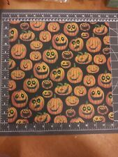 Scrapbook paper lot 12x12 Halloween K/&Co Heads will roll Sugar Skull 5p