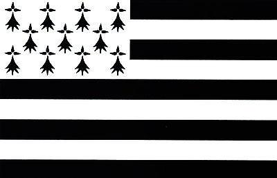 RüCksichtsvoll 10 X Aufkleber Auto Sticker Tuning Motorrad Autoaufkleber Fahne Flagge Bretagne Automobilia Accessoires & Fanartikel