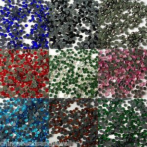 1000-Flat-Back-Glue-on-Iron-On-Hotfix-Rhinestone-For-Nail-Art-Crafts
