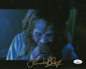 Linda-Blair-Autograph-Signed-8x10-Photo-The-Exorcist-034-Regan-034-JSA-COA