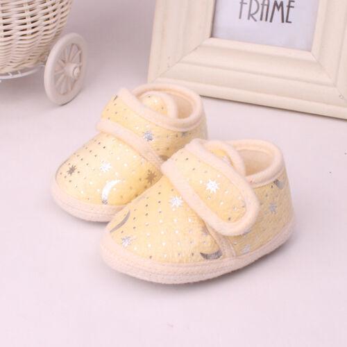 Non-Slip Newborn Infant Baby Toddler Soft bottom Shoes 3 Colors Girls Boys Nice