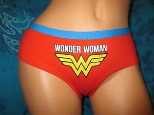 74db3e45460 nwt Wonder Woman Super Hero DC Comics Retro Boyshorts Hipster ...