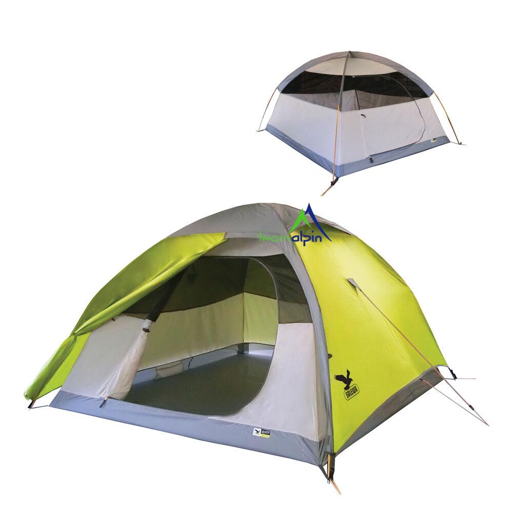 Salewa Tente Equateur III 3 Personnes de Camping Monde Du Trekking