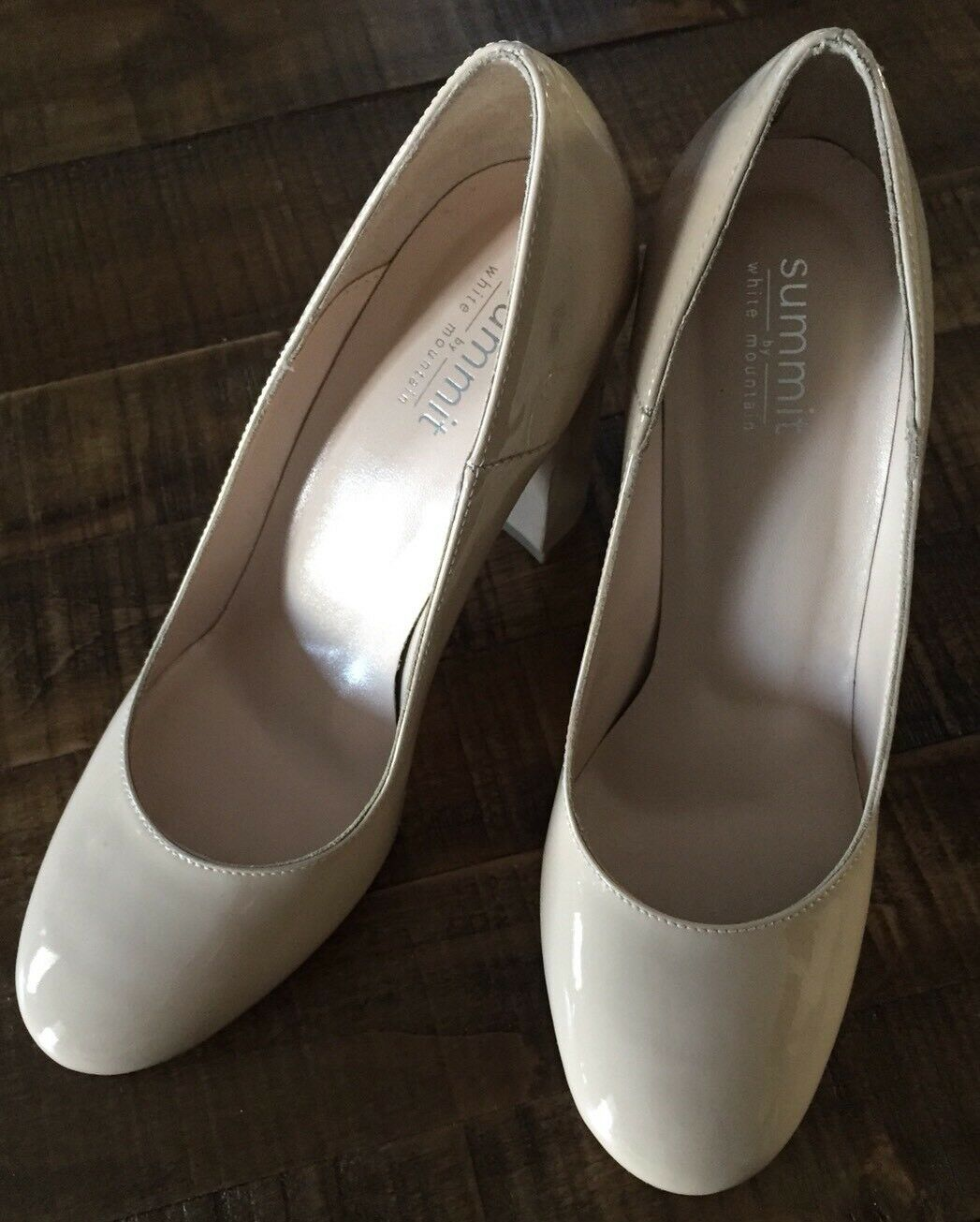 Summit by Weiß Mountain Aggie Nude Patent Pump Pump Pump 38M US 8M 15a943