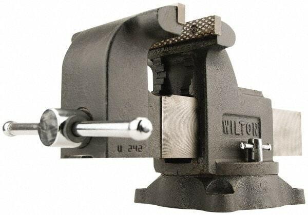 Wilton 63301 Ws5 Jaw Width 5-inch Throat Depth 3-inch Shop Vise for sale online