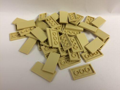New Lego 2x4 Tan Tiles Lot Of 50