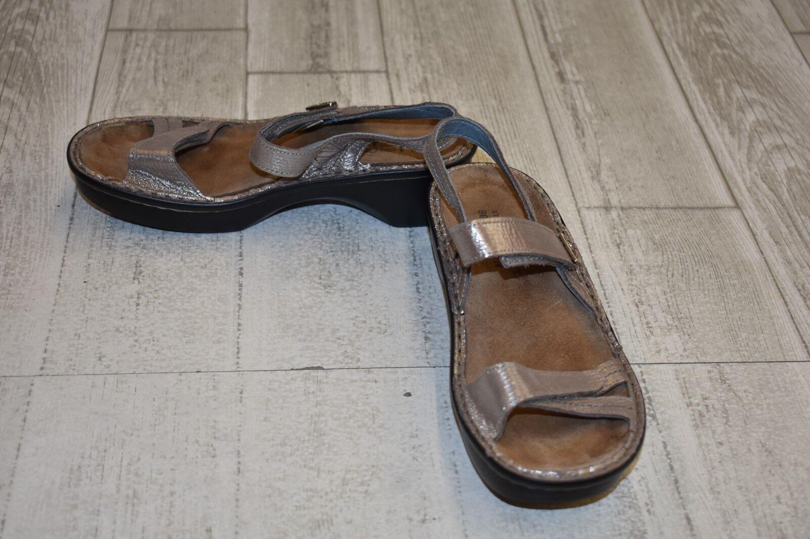 Naot Naot Naot Sandals, Women's Size 36 (US 5), Silver b4a1d2