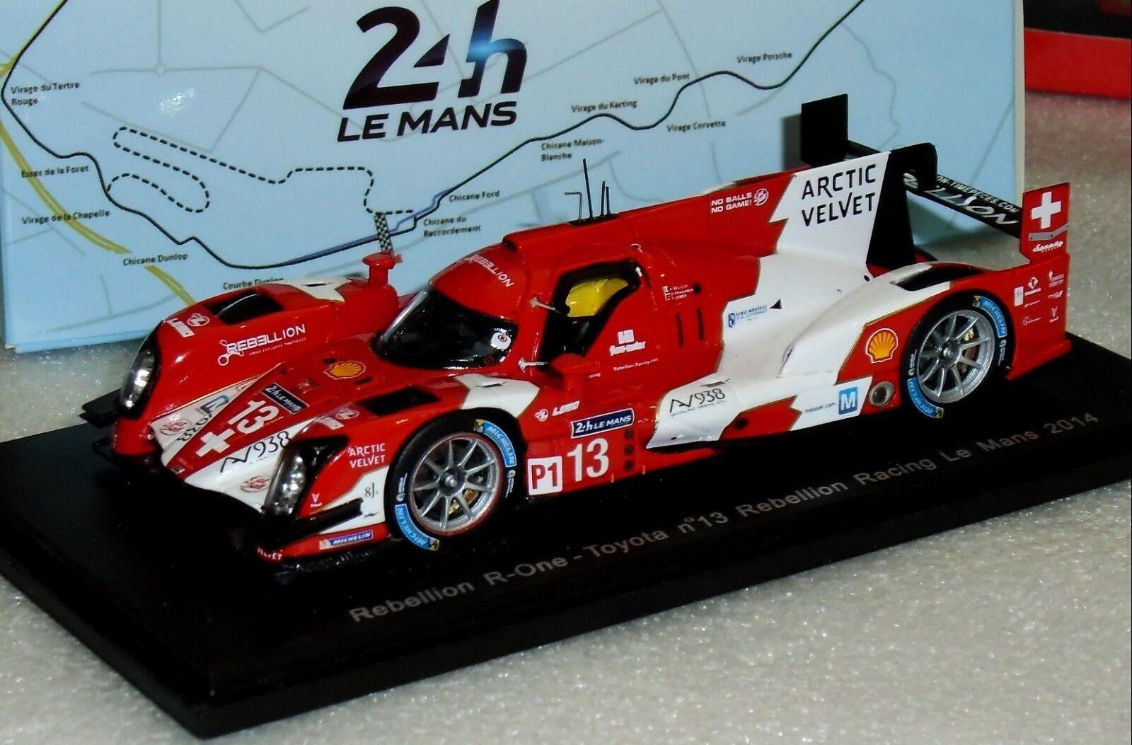 Rebelión R-ONE Toyota Edición Limitada Mans 2014 Spark S4207 1 43