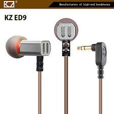 High-End In Ear Kopfhörer KZ-ED9 Professional In-Ear Ohrhörer Premium Silber