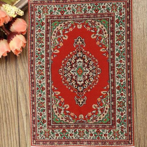 10*17CM Rot Dollhouse Miniature 1:12 Scale Floor Carpet Rug Low Price