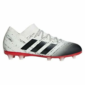 Contable Búho Mimar  Adidas nemeziz 18.1 FG Botas de fútbol Junior Talla 3 Reino Unido | eBay