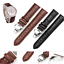 Fashion-Leather-Stainless-Steel-Butterfly-Clasp-Buckle-Watch-Band-Strap-18-22mm thumbnail 1