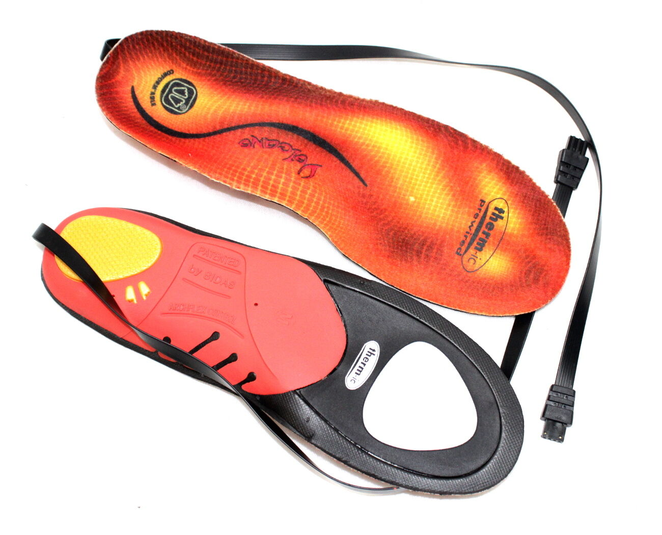 Sidas Conformable Inner Soles Therm-Ic Step in Volcano Insole shoes S-N 4