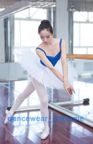 Ladies Professional Ballet Costume Tutu 6Layers Hard Organdy Platter Skirt Tutu