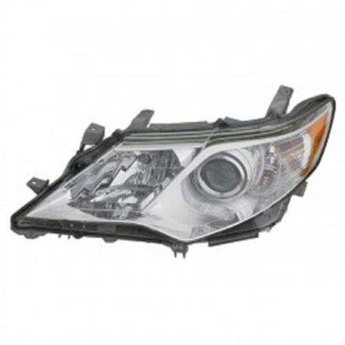New left driver headlight head light for Camry 2012 2013 2014