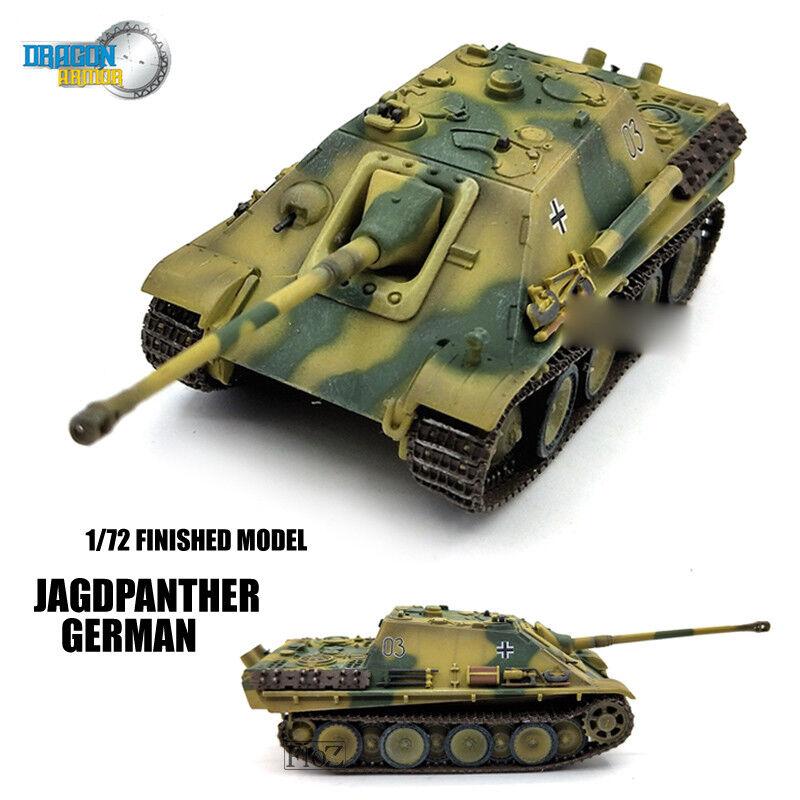 DRAGON WWII GERMAN Jagdpanther 1/72 1/72 1/72 NON DIECAST MODEL Tank 463f6c