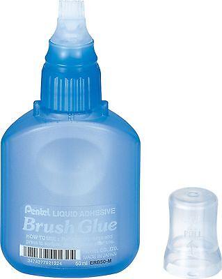 2 x Pentel Brush Glue ERB50-M  MADE IN JAPAN