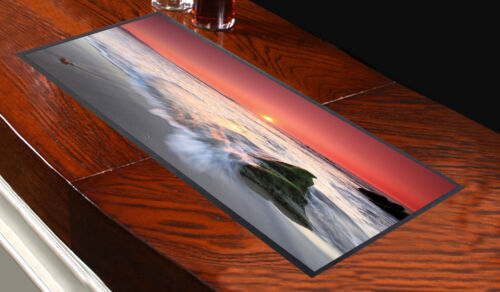 RED SUNSET BAR RUNNER IDEAL FOR ANY OCCASION PARTY CLUBS PUBS L/&S PRINTS