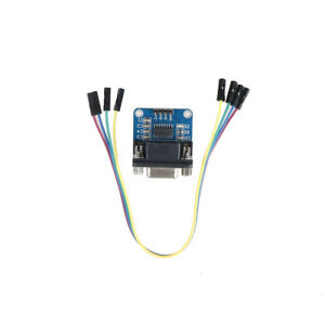 MAX3232-RS232-Serial-Port-To-TTL-Converter-Module-DB9-Connector-With-Cable-RF-BR