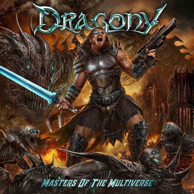 DRAGONY - Masters Of The Multiverse CD 2018 Symphonic Glory Metal Neu OVP