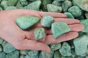 3 Pounds Tumbled Amazonite - 'AA' Grade - Wire Wrapping, Reiki, Crystal Healing