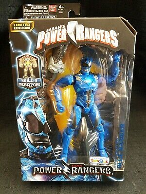 BanDai Saban/'s Power Rangers Build A Megazord 97655 BLUE Toys R Us Exclusive NEW