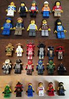 5ZA Lego and Custom mini figures Super heroes Knights Chimera Ninjago Ninja