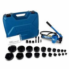 New Listingtemco 4 Hydraulic Knockout Punch Electrical Conduit Hole Cutter Set Ko Tool Kit