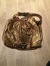 Marc Jacobs Gold Leather Bag