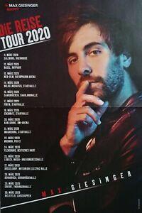 MAX-GIESINGER-A3-Poster-42-x-28-cm-Die-Reise-Tour-2020-Fan-Sammlung-NEU