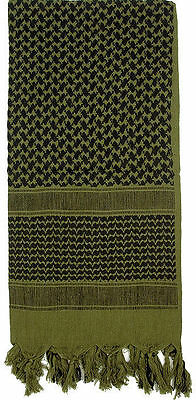 Military Shemagh Heavyweight Arab Tactical Desert Keffiyeh Scarf 100% Cotton Mul