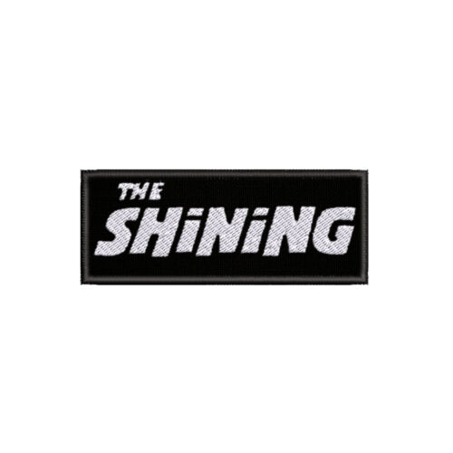 """The Shining Horror Classic 4/"""" W x 1.5/"""" T Embroidered Iron or Sew-on Patch"""