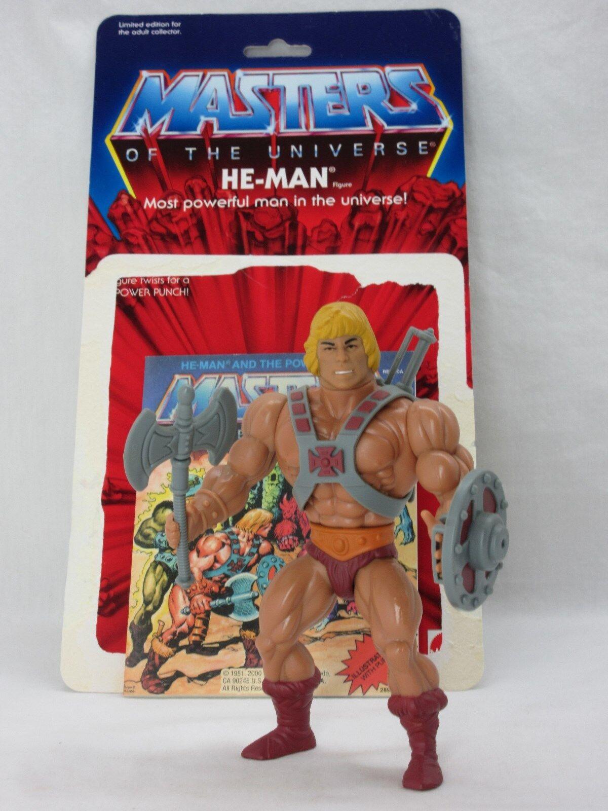 Motu, conmemorativa he-Man, Masters del Universo, 100% completo, comic,  eh hombre