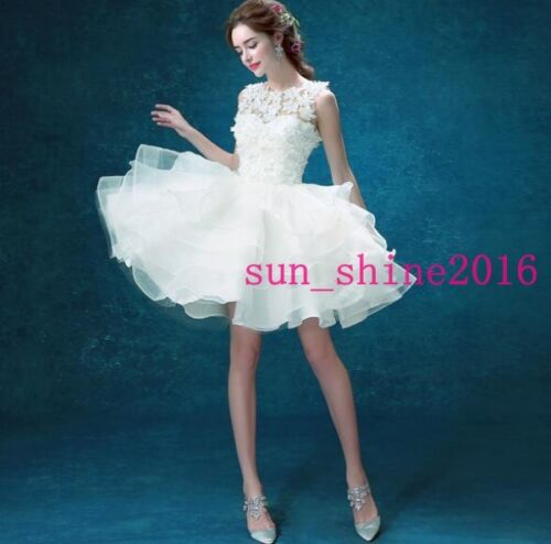 Bridesmaid Dress Cocktail Party Evening Womens Girls Short Formal Prom Skirts
