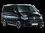 VW-Transporter-T5-Van-Rubber-Floor-Mat-Tailored-2003-on-Black-Button-Rubber thumbnail 2