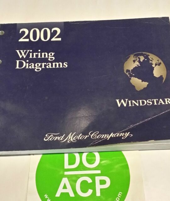 2002 Ford Windstar Wiring Diagrams Service Manual