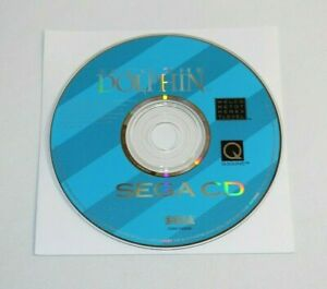 Ecco The Dolphin for Sega CD Authentic & Tested! Disc Only! Works Great! Rare!