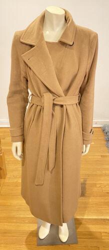 Women's MACKAGE Wool Cashmere Long Belted Coat, X