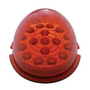 17 LED Beehive Cab Light Red LED//Red Lens